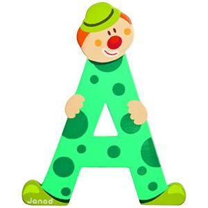 Janod Lettre clown en bois : A
