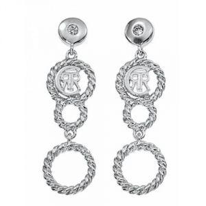 Cerruti R32077 - Boucles d'oreilles pour femme en acier