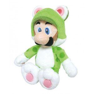 Sanei Peluche Super Mario Cat Luigi 25 cm