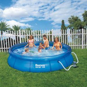 Bestway 57074 - Set piscine autoportante ronde Ø 366 x 76 cm