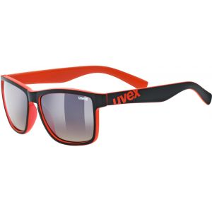 Uvex LGL 39 - Lunettes cyclisme - rouge/noir Lunettes de soleil
