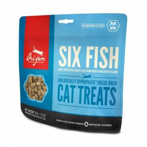 Orijen Cat Treats Freeze Dried - Six Fish - Env. 160 friandises