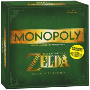 Nintendo Monopoly The Legend Of Zelda