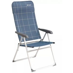 Outwell Chaise pliante Kenora Bleu 58 x 65 x 114 cm 410071