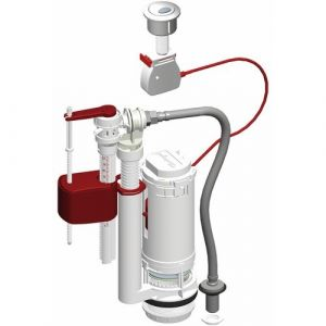 Mpmp Mécanisme chasse d'eau universel 3/6 litres avec flotteur