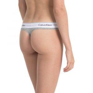 Calvin Klein Underwear tanga Femmes gris chiné T. M