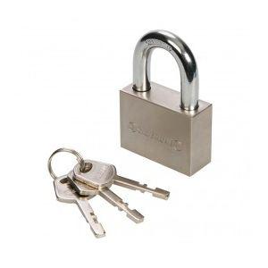 Silverline 595754 - Cadenas de sécurité 50 mm