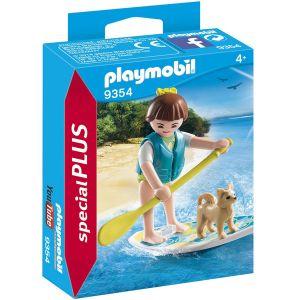 Playmobil 9354 - Sportive en paddle