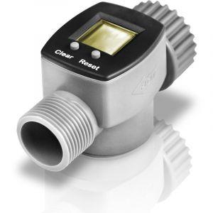 Bradas Débitmètre numérique d'eau électronique intelligent pour tuyau d'arrosage arrosage 3 / FXM 4inch