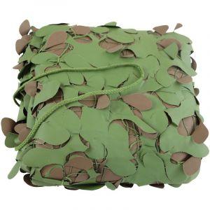 Filet de camouflage forêt ignifugé 1,5 x 5 mètres OVIALA