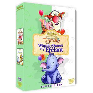 Winnie l'ourson et l'éfélant / Les Aventures de Tigrou - Coffret 2 DVD