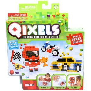 Kanaï Kids Mini kit créatif Qixels :  4 créations Racing