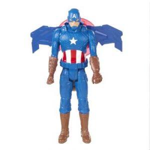 Hasbro Figurine électronique Captain America Avengers Série Héros Titan