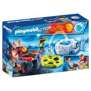 Playmobil 6831 Action - Zone de combat avec robot