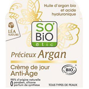 So'Bio Étic Précieux Argan - Crème de jour Anti-Âge