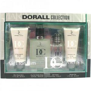 Dorall Collection Marine - Coffret eau de toilette, après-rasage, gel douche et miniature