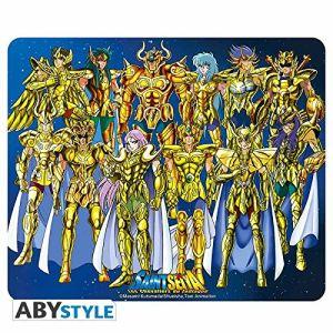 "Abystyle ABYACC163 - Tapis de souris Saint Seiya ""Chevalier d'or"""
