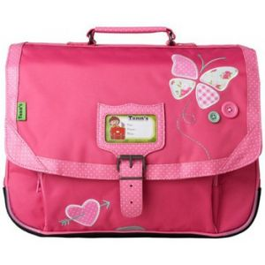 Tann's Cartable Collector Butterfly 38 cm CP/CE1 Rose