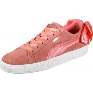 Image de Puma Suede Bow W Lo Sneaker chaussures rose rose 37,5 EU