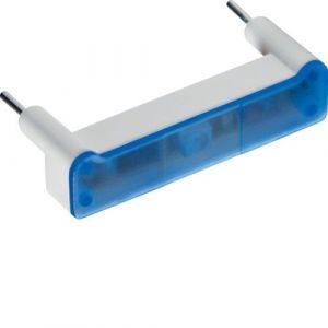 Hager Lampe enfichable bleu signalisation i à led 250v kallysta