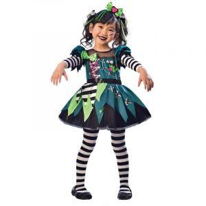 Amscan Déguisement Little Miss Frankenstein 3-4 Ans