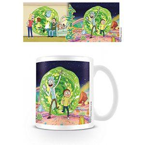 Rick et Morty MG24438 Rick and Morty (Portal) Mug, Céramique, Multicolore, 11oz/315ml