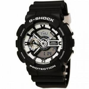 Casio GA-110BW-1AER - Montre pour homme G-SHOCK