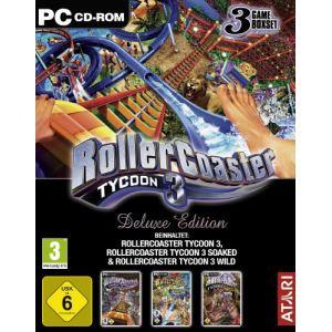 Roller Coaster Tycoon 3 Deluxe Edition : Le jeu + les extensions Délires Aquatiques et Distractions Sauvages [PC]