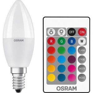 Osram LED E14 en forme de bougie 5.5 W = 40 W RVBB
