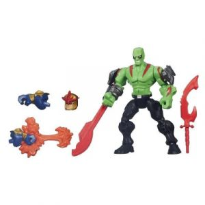 Hasbro Figurine Marvel Super Hero Mashers Drax et Marvel's Nova