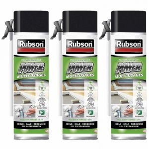 Rubson Lot de 3 mousse expansive power