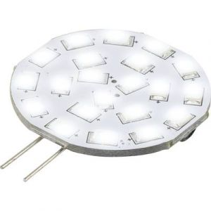 Sygonix Ampoule LED G4 9283c121b à broches 3 W = 30 W blanc froid (Ø x L) 35 mm x 47 mm EEC: A 1 pc(s)