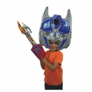 Perruque gonflable Transformers Optimus Prime