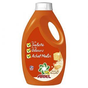 Ariel Simply Lessive liquide savon de Marseille 33 lavages 2,145 L - lot de 2