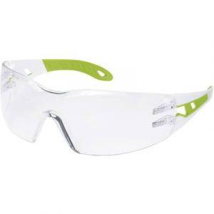 Uvex Lunettes de protection Pheos Blanc/vert