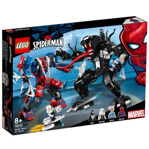 Lego 76115 - Marvel Super Heroes - 2018 - Le robot de Spider-Man contre Venom