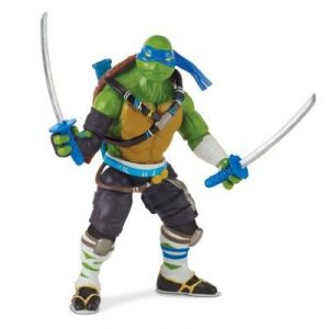 Giochi Preziosi Leonardo - Figurine Tortues Ninja Out of the Shadow Battle Sounds
