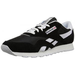 Image de Reebok Classic Nylon chaussures noir 42,5 EU