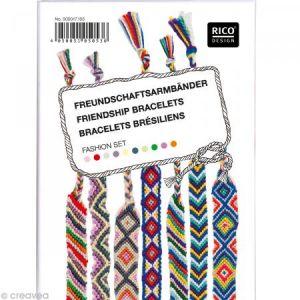 Rico Design Kit Bracelets Brésiliens - Fashion Set