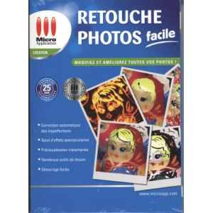 Retouche Photos Facile 2012 pour Windows