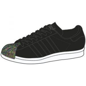 Adidas Superstar 80s MT W, Chaussures de Fitness Femme, Rouge Granat/Ftwbla 000, 41 1/3 EU