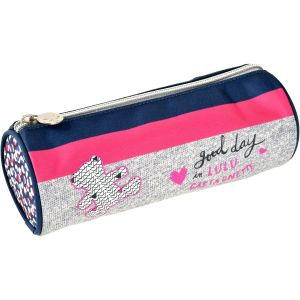 Lulu Castagnette Trousse ronde Good Day rose