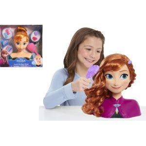 Giochi Preziosi Disney Princesses Dp - Tête À Coiffer Basic - Anna