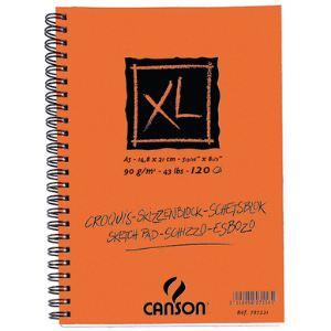 Canson 787221 - Album croquis XL à 60 feuilles 90 g (A5)