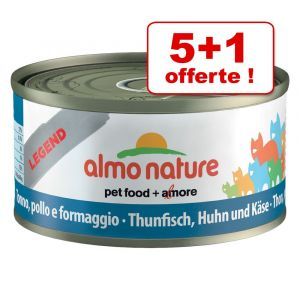 Almo Nature Chat Legend Thon du Pacifique 6 x 70 grs