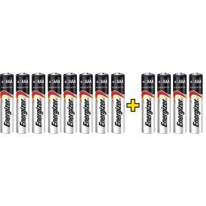 Energizer Pile LR03 (AAA) alcaline(s) Max LR03, 8+4 gratis 1.5 V 12 pc(s)