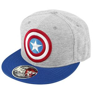Cotton Division Casquette Snapback Captain America