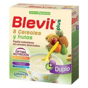 Blevit Plus 8 céréales et fruta 600g