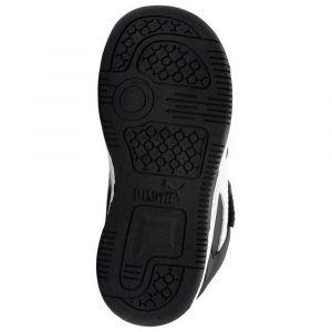 Puma Baskets Rebound Layup Lo Sl Velcro Infant Black / White / High Rise - EU 27