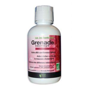 Sante verte Jus de grenade sauvage biologique